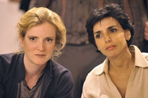 Nathalie Kosciusko-Morizet et Rachida Dati en septembre 2008 à Nanterre (Hauts-de-Seine).