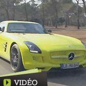 Mercedes SLS Ed, une décharge d'adrénaline