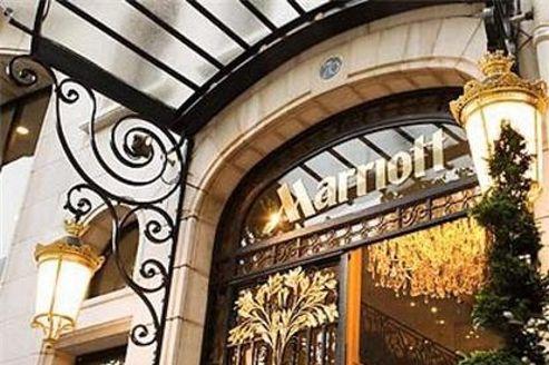 Hôtel Marriott des Champs-Élysées, à Paris. La chaîne américaine voit dans ce partenariat «une formidable opportunité de gagner des parts de marché.»