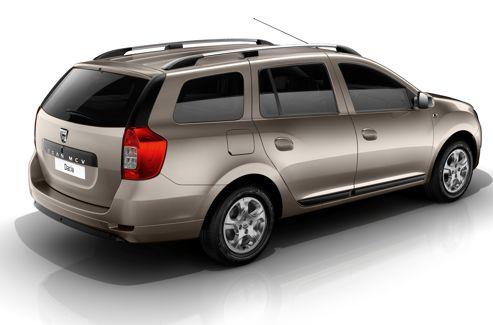Malgré le lancement du monospace Lodgy, Dacia n'a pas renoncé à produire le break Logan MCV. En revanche, il n'est plus disponible qu'en cinq places.