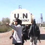 Des rebelles syriens s'en prennent à l'ONU