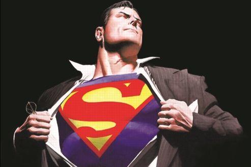 Superman, super-héros du Salon du livre de Paris