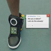 Google donne la parole à des chaussures