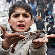 Les enfants broyés par la guerre en Syrie