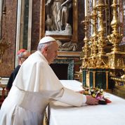 François et le bouquet à la Vierge Marie