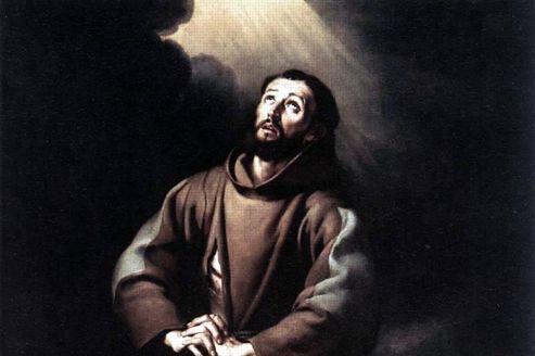 Tableau représentant saint François d'Assise, par Bartolomé Esteban Murillo.