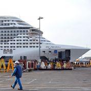 Top départ pour le plus gros paquebot d'Europe