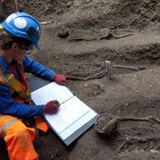 Un cimetière retrouvé au cœur de Londres