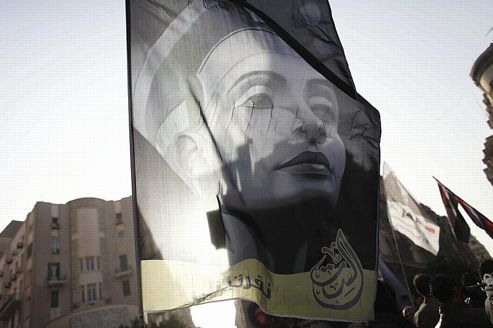 Manifestation au Caire contre les Frères musulmans le 8 mars dernier, lors de la journée des droits des femmes.