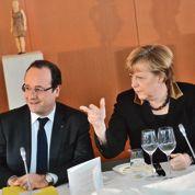 Merkel invite Hollande et grands patrons