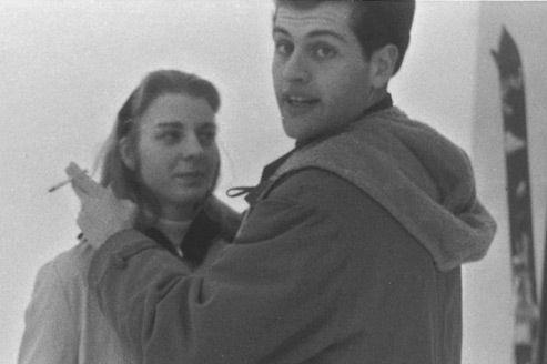 Joe Dassin et son amour de jeunesse, Dorothy Sherrick, à qui il dédicaça ses nouvelles. Crédits photo: collection personnelle