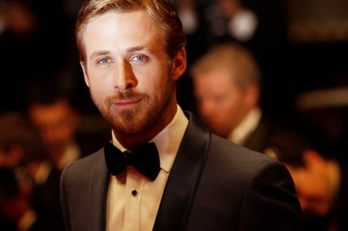 Ryan Gosling lors de la projection de <i>Drive</i> au Festival de Cannes, le 20 mai 2011.