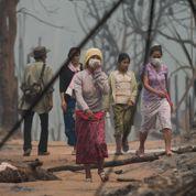 Les violences s'étendent en Birmanie