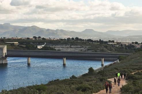 Une des étapes du GR 2013, près de Cassis.