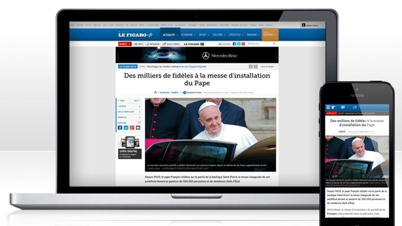 Lefigaro.fr accélère sur le mobile et dans la vidéo