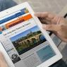 Lorsque l'article est consulté depuis une tablette, la mise en page s'adapte automatiquement.