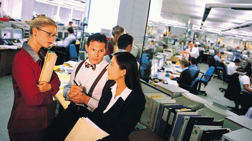 Flirter avec collègue travail