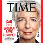 Lagarde encensée par le magazine Time