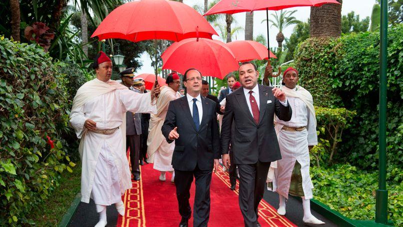 Infooriginal: F. Hollande dans le palais royal de ...