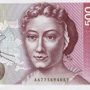 Maria Merian, visage du deutsche mark