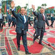 Hollande soigne sa relation avec le roi du Maroc
