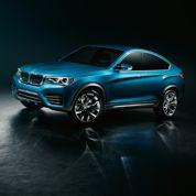 BMW X4Concept : un petit X6 en 2014