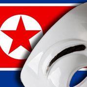 Anonymous pirate des comptes nord-coréens