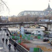 Les travaux publics seraient gelés à Paris