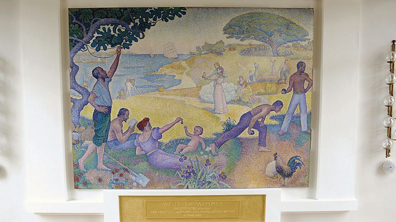 Le tableau de signac restera montreuil - Jardin maison de la culture namur montreuil ...