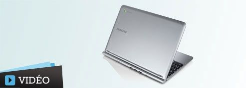 Test : le Samsung Chromebook, ordinateur low-cost et connecté