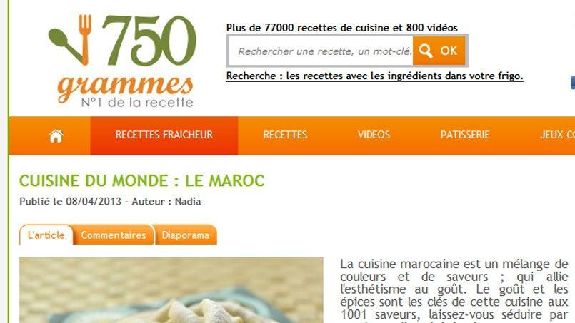 marmiton org recettes recherche