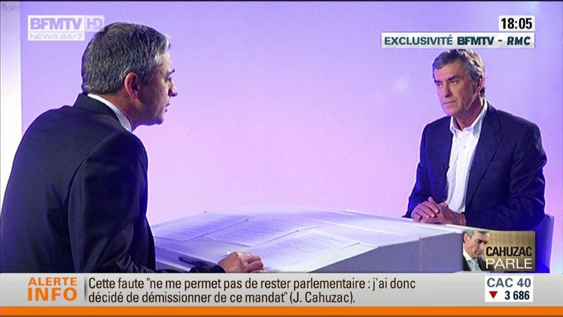 Cahuzac «ignore» ce que savait Hollande