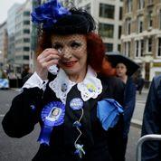 Recueillement aux obsèques de Thatcher