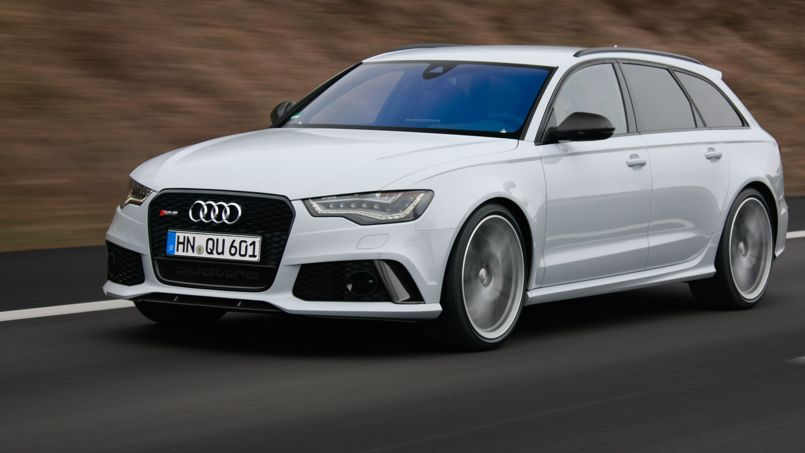 Audi RS6 Avant, un « break de course »