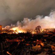 Une explosion frappe Waco