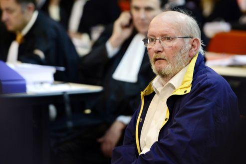 Jean Claude Mas, fondateur de Poly Implant Prothèses, lors de l'ouverture du procès, le 17 avril.