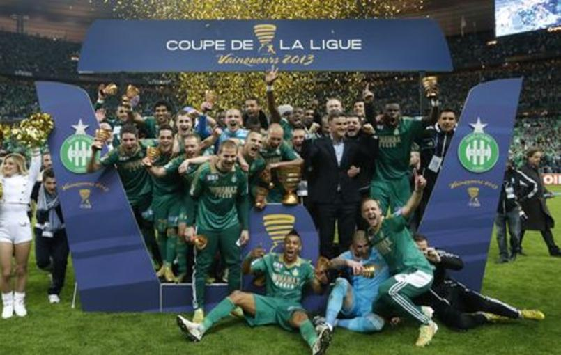 Les verts au paradis coupe de la ligue football - Paris saint etienne coupe de la ligue ...