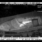 Boston : la vidéo thermique de la traque