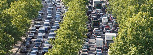 Les Franciliens perdent 63 heures par an dans les bouchons
