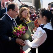 Hollande veut relancer les relations avec Pékin