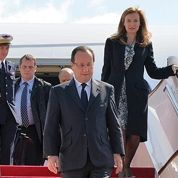 Les premiers pas de Hollande en Chine