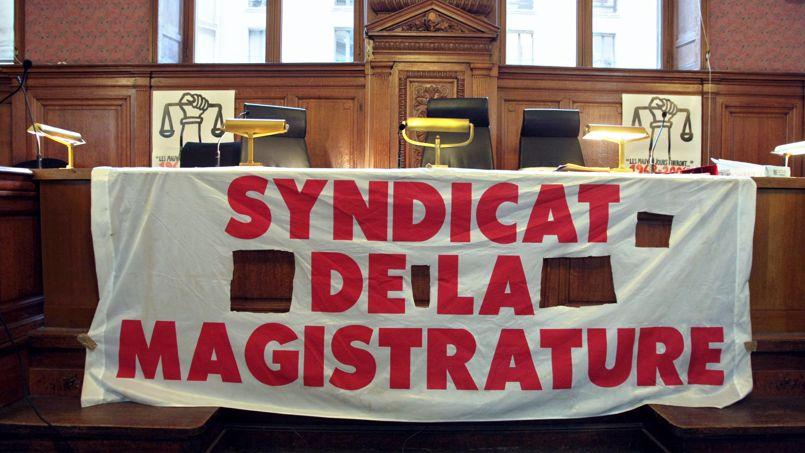 Pendant le 40e congrès du Syndicat de la magistrature, en 2008.