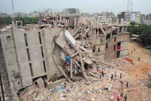 Le Rana Plaza s'est effondré comme un château de carte.