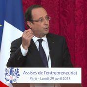Entrepreneurs : double langage de Hollande