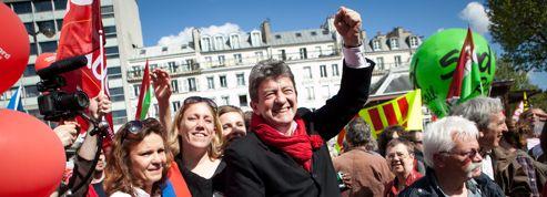 Le 5 mai, Mélenchon espère plus de 100.000 personnes