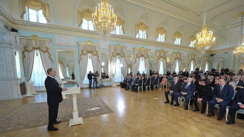 Comme Staline en son temps, Poutine distingue les ouvriers méritants