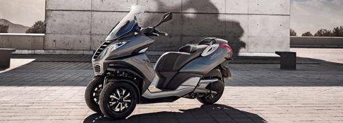 Peugeot lance enfin son scooter à trois roues