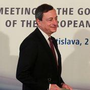 Récession : Draghi reconnaît ses limites