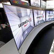 LG vend la première télé à écran courbe