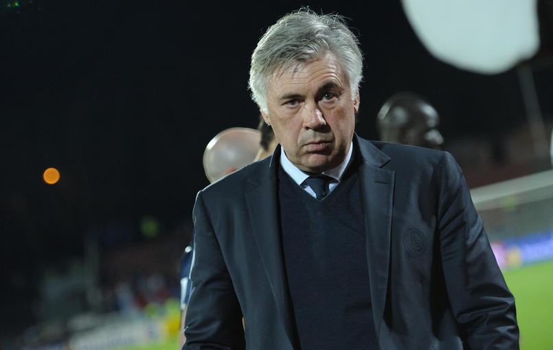 Ancelotti en pleine réflexion